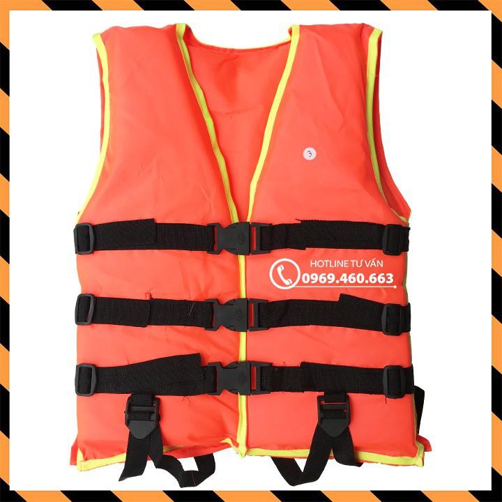 Áo phao bơi cứu hộ trẻ em người lớn. Sức nâng 30Kg Cao Cấp, Giá Tốt