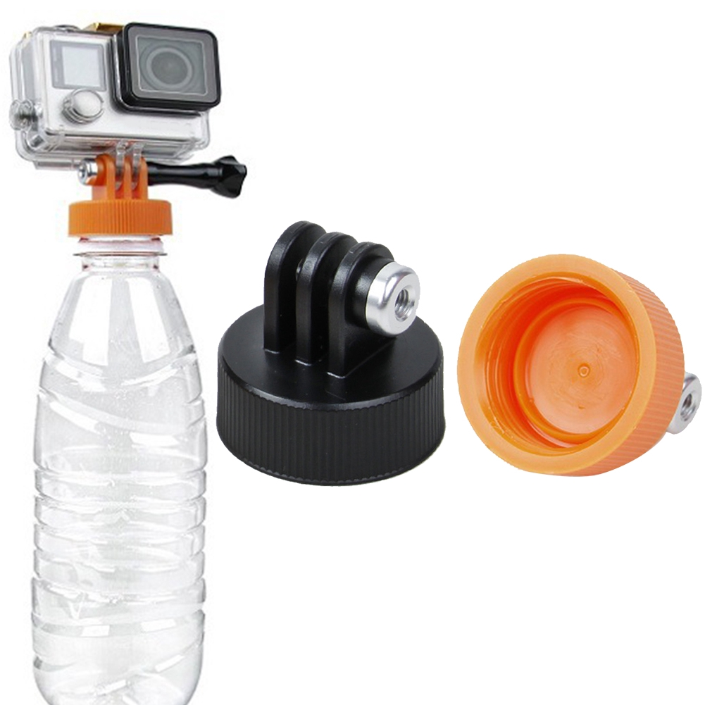 Water DIY Practical Tools Holder Attachment Universal Flexible Bottle Mount Adapter Connector Camera Monopod For GoPro