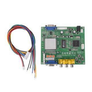❤Bản mạch chuyển đổi đầu cắm video RGB/CGA/EGA/YUV sang đầu VGA HD Board HD9800/GBS8200 HD9800/GBS8202