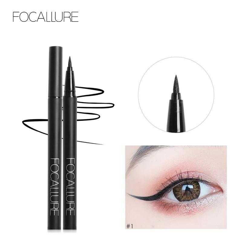 Bút kẻ mắt FOCALLURE dạng lỏng chống nước bền màu lâu trôi 20g