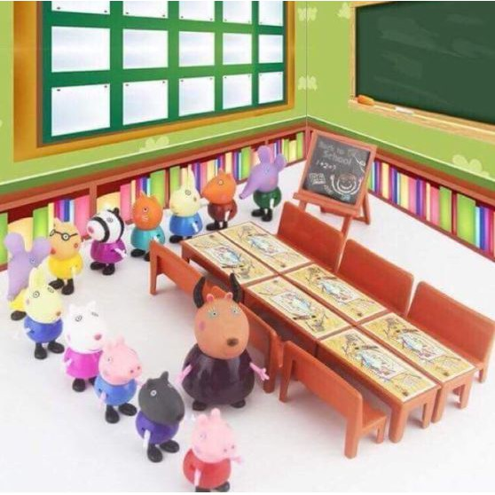 Lớp học Peppa Pig 13 nhân vật