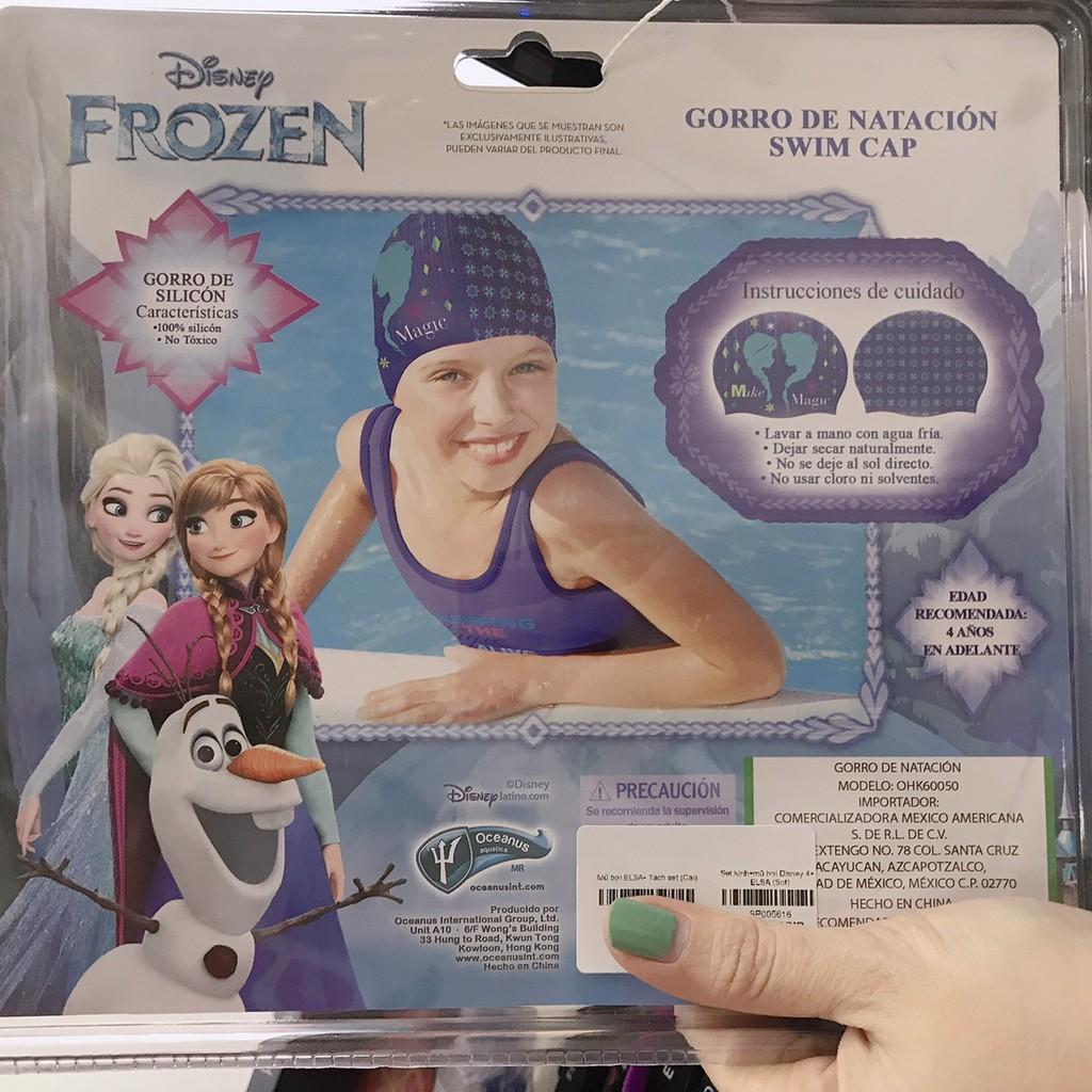 Set kính và mũ bơi Disney ELSA