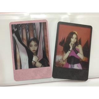 2 card Jisoo
