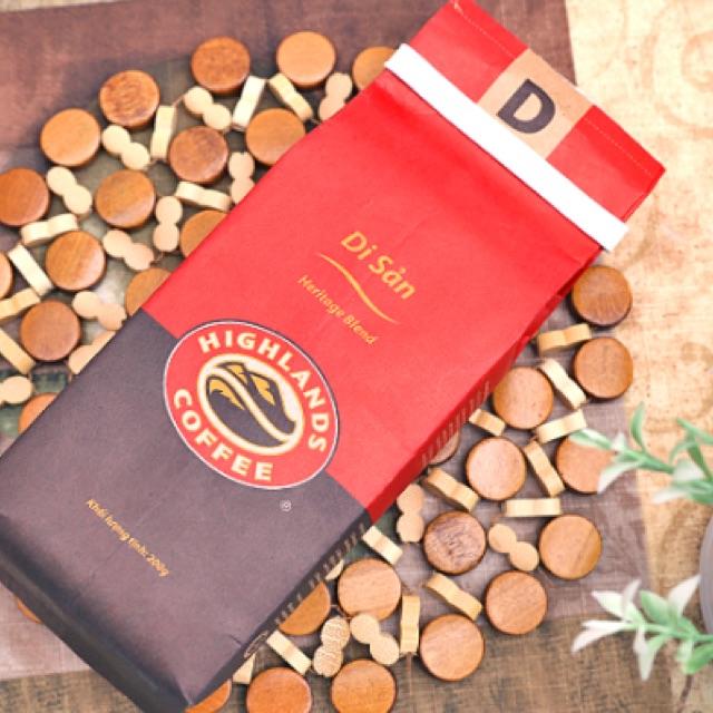 Cà phê rang xay Di Sản Highlands Cofee 200g - 2542802 , 1217688443 , 322_1217688443 , 70000 , Ca-phe-rang-xay-Di-San-Highlands-Cofee-200g-322_1217688443 , shopee.vn , Cà phê rang xay Di Sản Highlands Cofee 200g
