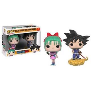 Đồ chơi mô hình Funko Pop 2 Pack Bulma and Goku with Flying Nimbus – Dragonball – Dragon Ball ( Hàng real chính hãng )