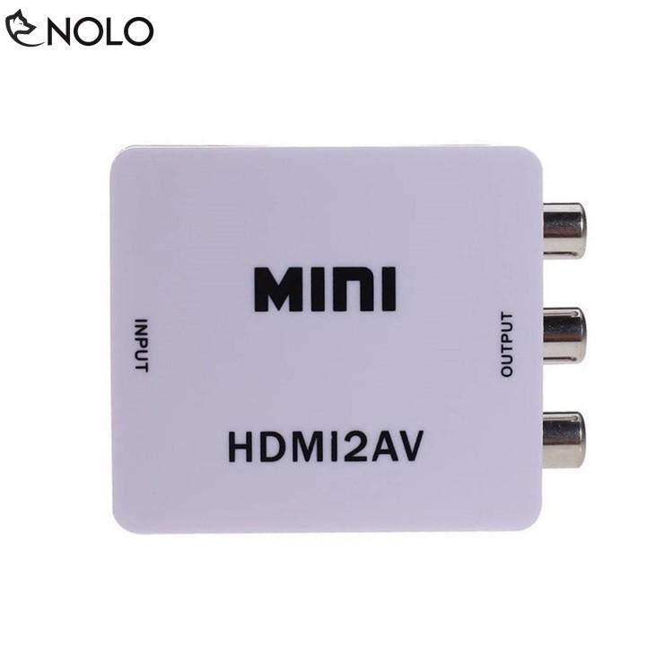 [HOT SALE] [Nhập ELCLMAY hoàn 30K xu đơn từ 200K]Box Chuyển Đổi HDMI Ra AV (Video, Audio) Full HD 1080p