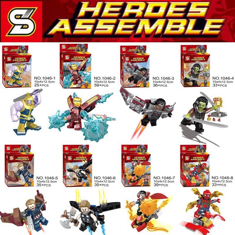 COMBO 8 Mẫu Super Hero Infinity War