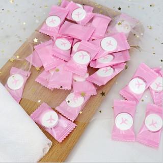 Combo 2 viên giấy nén hình viên kẹo, giấy nén du lịch dùng 1 lần không gây kích ứ thumbnail