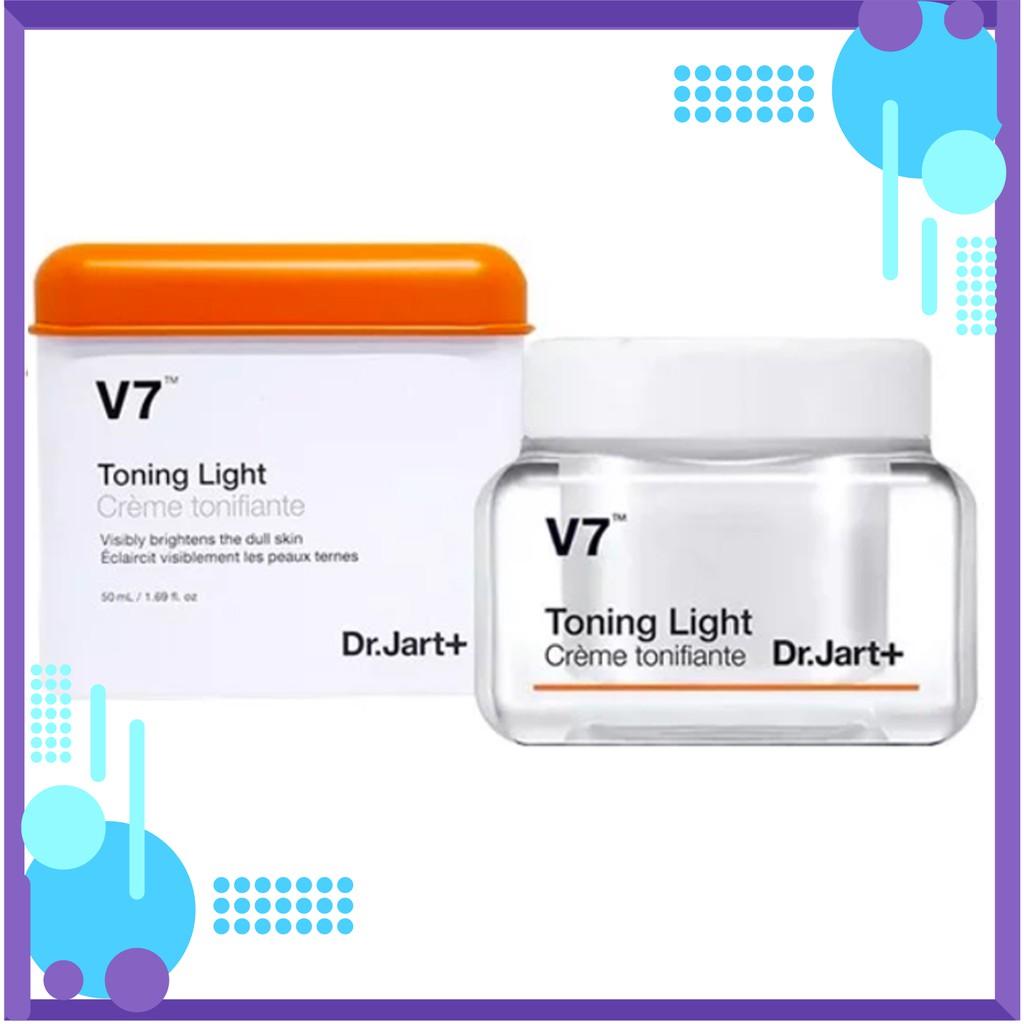 Kem V7 Toning Light Dr.Jart+ KEM DƯỠNG TRẮNG VÀ TÁI TẠO DA V7 TONING LIGHT 50ml