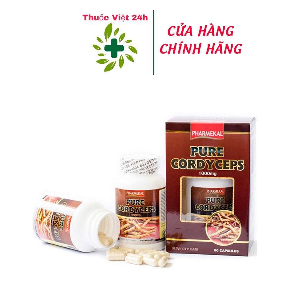 Đông Trùng Hạ Thảo Pure Cordyceps Pharmekal hỗ trợ tăng cường sức đề kháng của cơ thể, giúp cơ thể khỏe mạnh