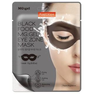 Purederm Mặt nạ dưỡng mắt Purederm black food gel eye zone mask (dạng gel)- gồm 17 thảo dược đen - Hoàn mỹ beauty thumbnail