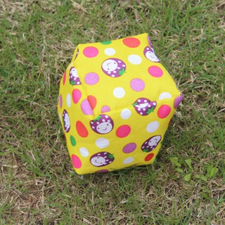 HEL❤ Cotton cloth stuffed plush cartoon hand ball sandbag doll educationa
