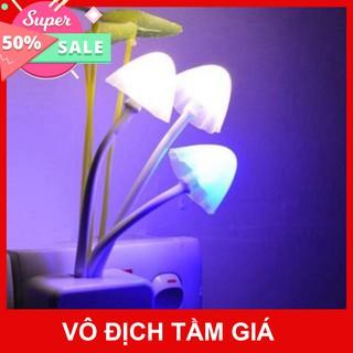 [Sale 1k giá hủy duyệt] Set 3 đèn ngủ hình nấm tiết kiệm điện năng
