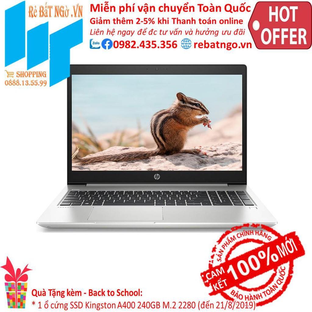 Laptop HP ProBook 450 G6 5YM79PA 15.6 inch HD_i5-8265U_4GB_500GB HDD_UHD 620_Free DOS_2.0 kg