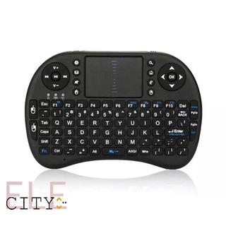 111ele I8 Mini Size Handheld Wireless Keyboard Lightweight 2.4GHZ Multimedia Keyboard thumbnail