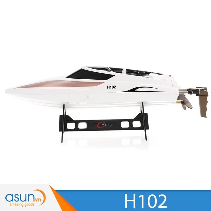 30KM/H Tàu Cano Điều Khiển Từ Xa Tàu TKKJ H102 RC Racing Boat