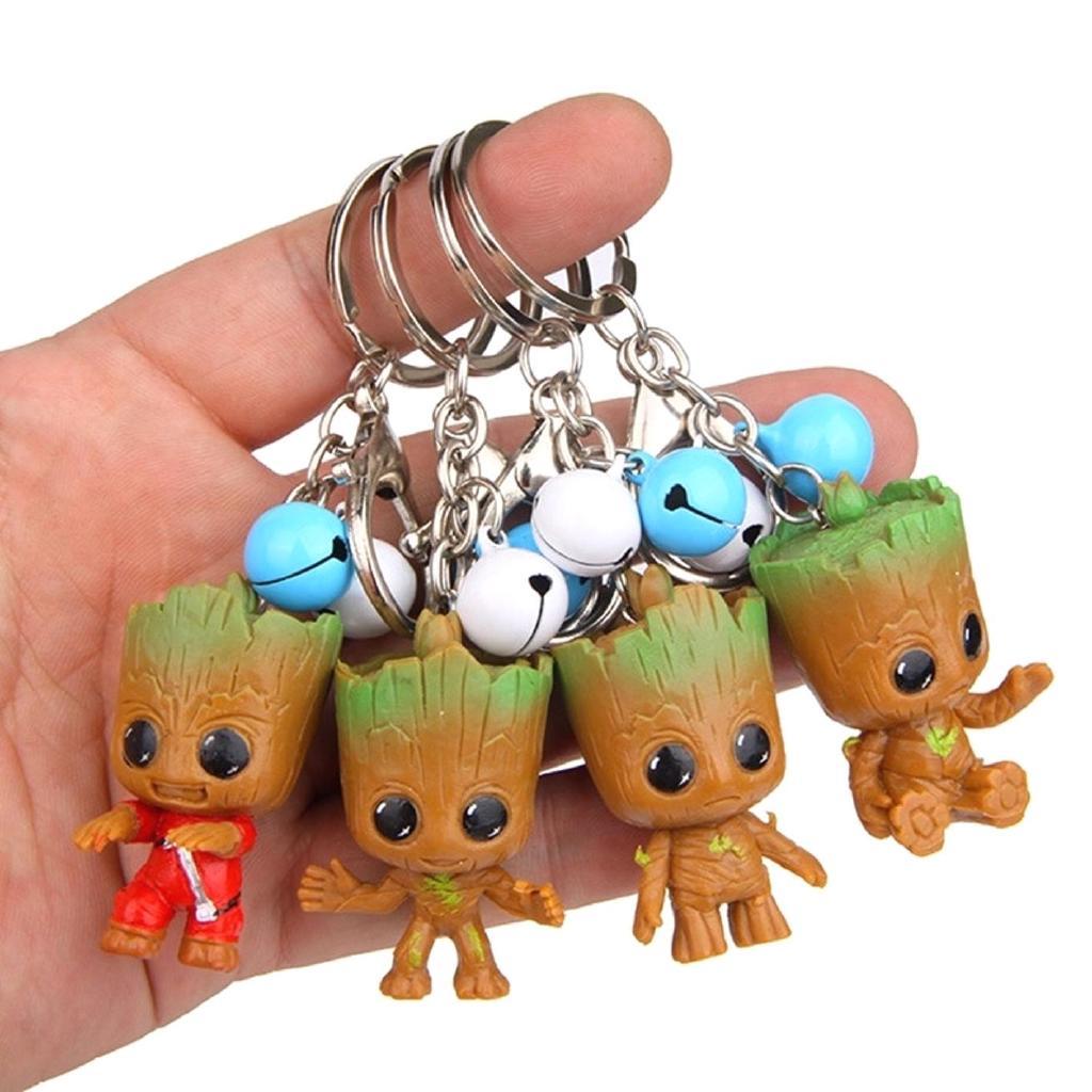 Tree Man Keychain Toys Guardians Treeman Keychain Keyring