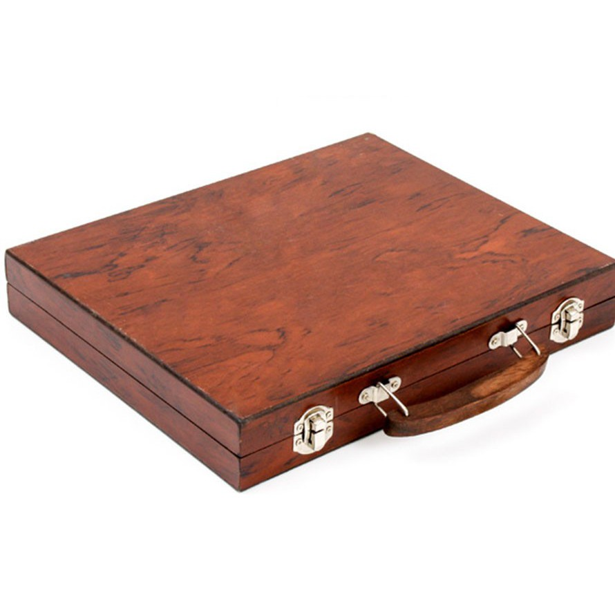 Bộ màu vẽ đa năng hộp gỗ