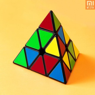 M&J Xiaomi Youpin Deli Original 3x3x3 pyramid Magic Cube pyramid Cubo Magico professional Puzzle edu