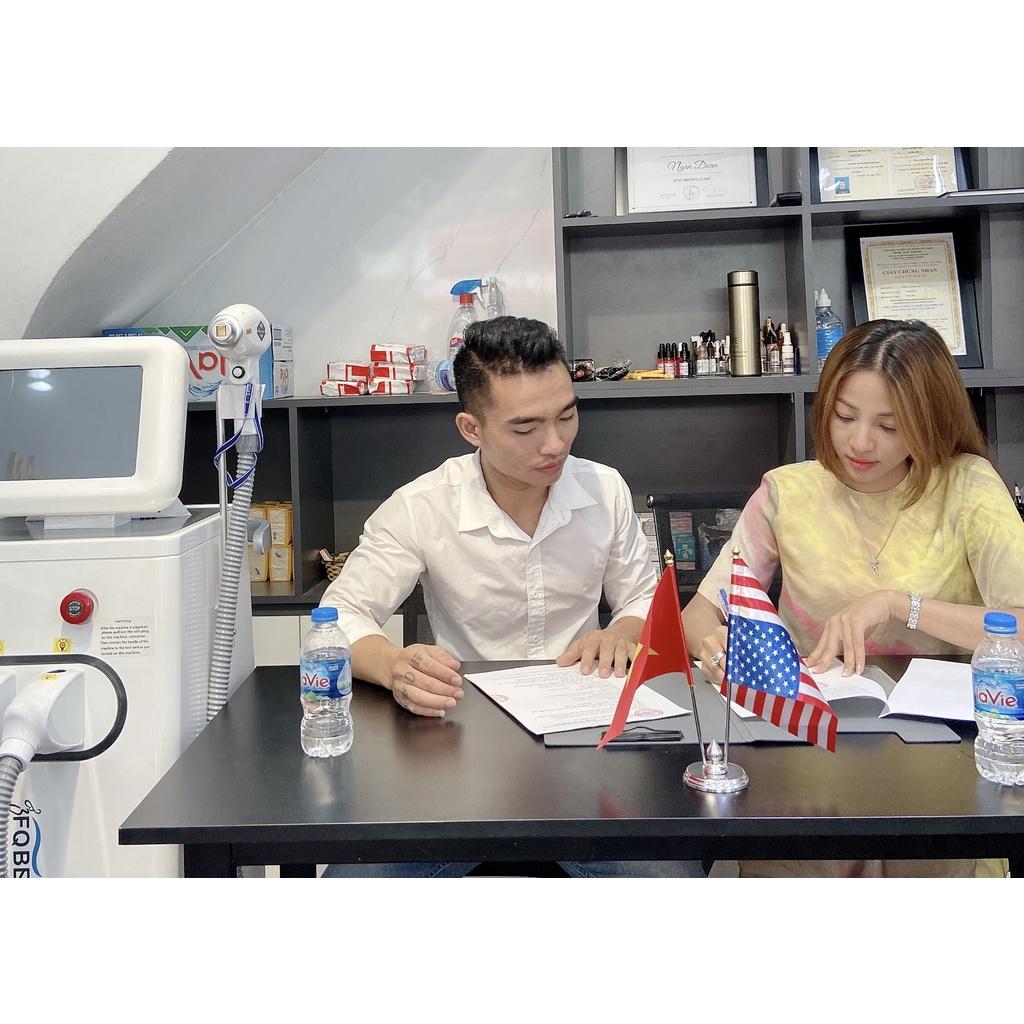Máy Triệt Lông Diode FQ Beauty Kết Hợp Laser xoá xăm Hàng CHÍNH HÃNG bảo hành 13 tháng