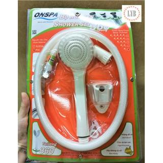 Bộ vòi sen tắm nhựa bền chắc ONSPA