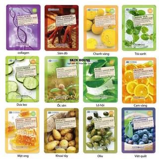 Mặt Nạ Dưỡng Da 3D Foodaholic Natural Essence Mask 23g thumbnail