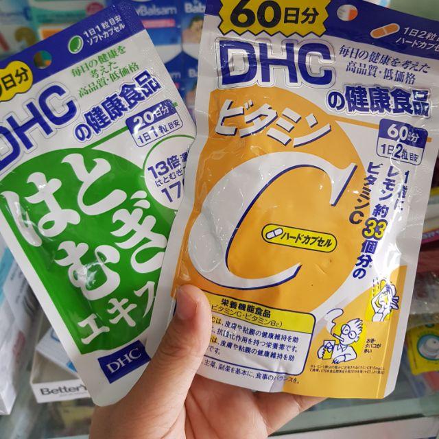 DHC vitamin c mờ tàn nhang chống lão hóa da túi 60 viên - 2626765 , 1150004470 , 322_1150004470 , 135000 , DHC-vitamin-c-mo-tan-nhang-chong-lao-hoa-da-tui-60-vien-322_1150004470 , shopee.vn , DHC vitamin c mờ tàn nhang chống lão hóa da túi 60 viên