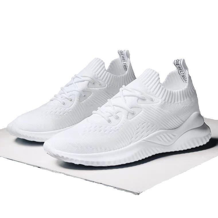 Giày thể thao sneaker nữ độn đế siêu êm HAPU mã APB1 hồng, đen, kem, trắng
