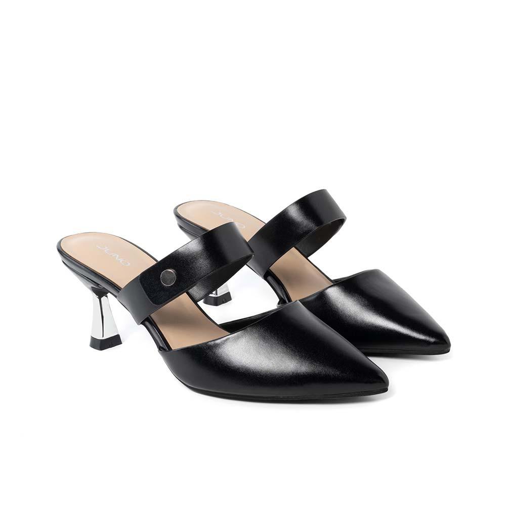 JUNO - Giày mules mũi nhọn gót thanh - CG
