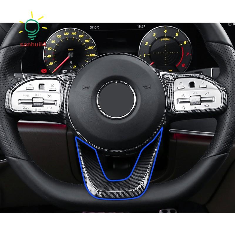 Phụ Kiện Trang Trí Vô Lăng Xe Ô Tô Benz W177 W205 W213 Sport Edition 2019-2020
