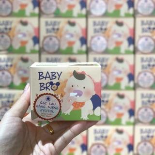 [SỈ] Gạc rơ lưỡi Baby Bro Hàn Quốc chứa Xylitol tự nhiên cho bé thumbnail
