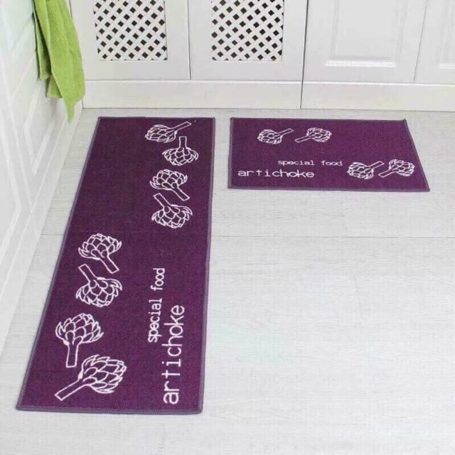 Hàng về đủ mẫu Thảm đôi cho nhà bếp Giá 150k Bộ gồm 02 thảm Kích thước: 40 x 120 cm và 40 x 60 cm  chất liệu: Sợi vải t