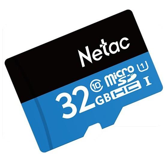 [Mã ELFLASH3 hoàn 10K xu đơn 20K] Thẻ nhớ Netac 32G U1 Micro SDHC dùng cho camera Yoosee