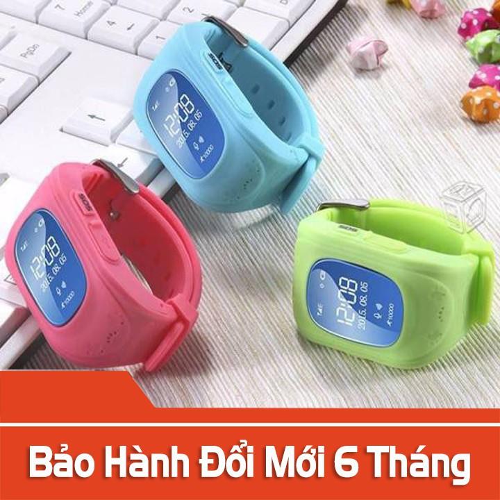 [HÀNG CHÍNH HÃNG][MIỄN PHÍ VẬN CHUYỂN]Đồng Hồ Định Vị Trẻ Em Thông Minh Q50 BH: 12 Tháng