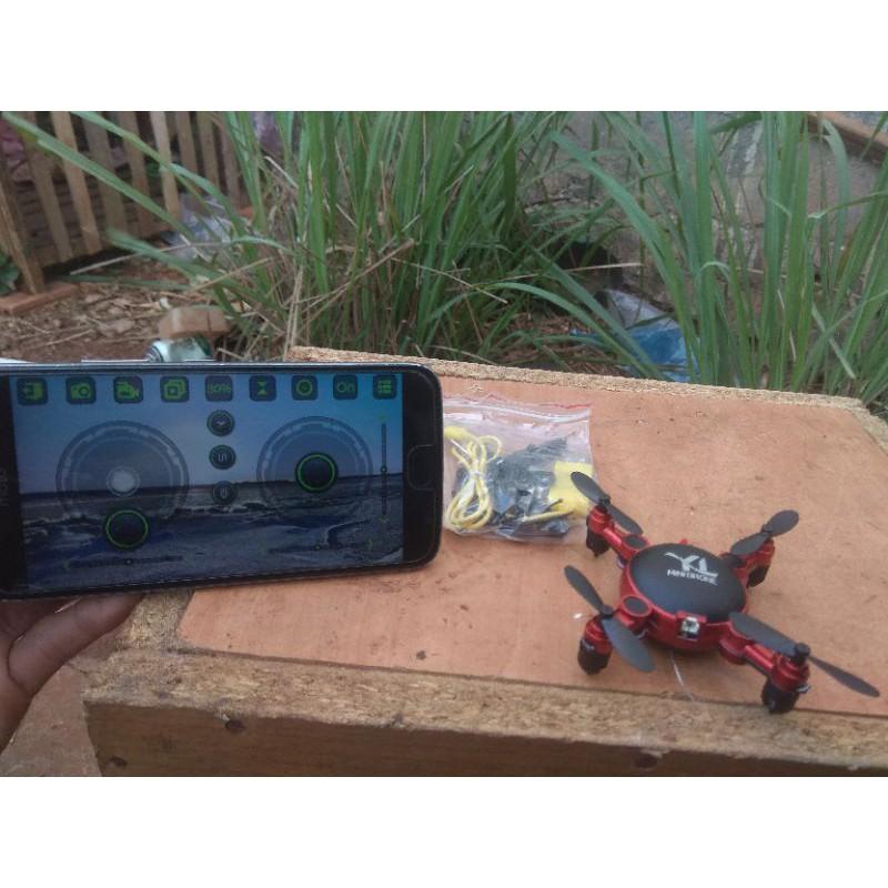 Flycam Mini Drone Có Camera Quay Phim HD – Kết Nối Wifi Điều Khiển Bằng Điện Thoại FYD – Pin Sạc