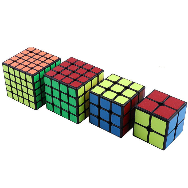 3 third-order 4 fourth-order Rubik's cube 2 24th-order 5th-order smooth game puzzle toy set beginner game special cube