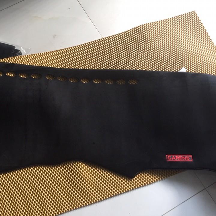 Thảm chống nóng taplo LÔNG CỪU 3 LỚP HÀN QUỐC dùng cho xe KIA CARENS đời mới, đế chống trượt mềm mịn, tơ đẹp, dày dặn