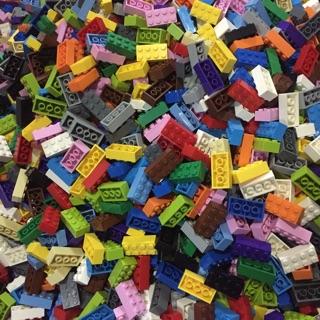 [ Gạch lẻ ] 10 viên gạch dày kích thước 1×1, 1×2, 1×3, 1×4, 1×6 và 2×2, 2×3, 2×4 – tương thích với LEGO