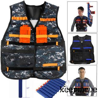 ☞❀❤♕GOAHi-Q Adjustable Tactical Vest with Storage Pockets Toys Accessories