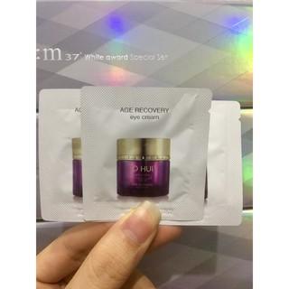 combo 10 Gói sample Kem Dưỡng Chống Lão Hóa Vùng Mắt Cải Thiện Nếp Nhăn Ohui Age Recovery Eye Cream thumbnail