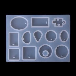 Khuôn silicon làm trang sức nhiều shape