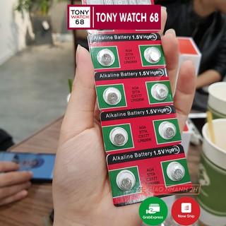 Pin đồng hồ đeo tay , pin cúc áo 1K Alkaline Battery loại nhỏ 1.5V AG4 377A CX177 LR626W thumbnail