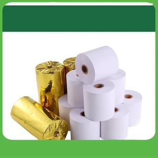 [SALE 3 NGÀY] [BAO CHẤT] Combo 32 cuộn giấy in hóa đơn K58 cuộn to, cuộn giấy in bill khổ 58mm, giấy in nhiệt cho máy in