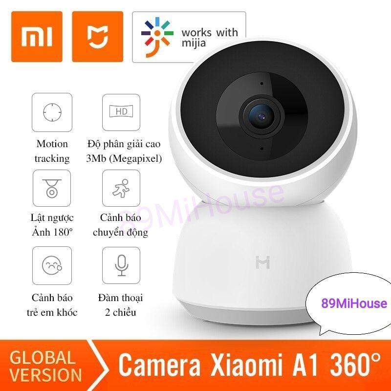 [QUỐC TẾ] Camera IP Xiaomi IMILAB A1 360 độ 2K - Camera giám sát 360 độ Xiaomi IMILAB A1 2K - IMILABA1