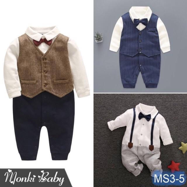 Body vest cho bé trai nhiều mẫu