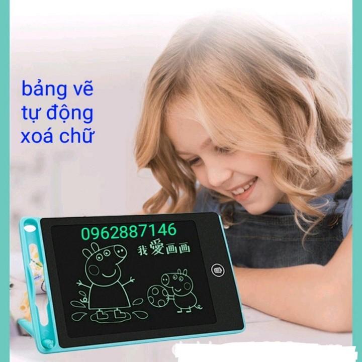 Bảng viết, bảng vẽ điện tử thông minh tự động xóa cho bé