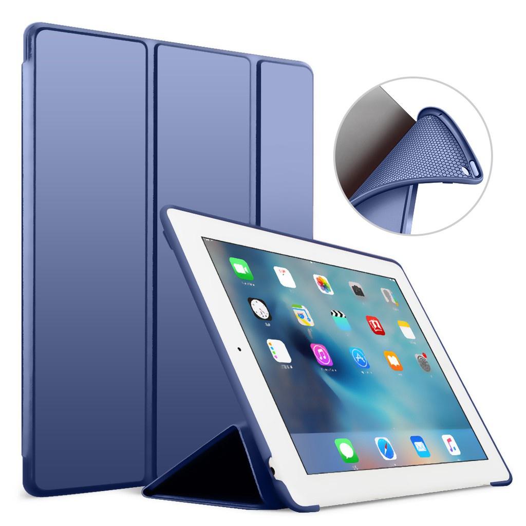 Bao da máy tính bảng GOOJODOQ bằng PU phối silicon mềm 9.7 inch dành cho  Apple iPad Air 2/ ipad 6 Funda A1566/A1567 - Vỏ bao, Ốp lưng & Miếng dán máy