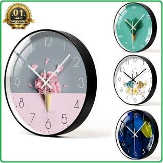 Đồng hồ treo tường Kim Trôi (Nhiều mẫu) - Hàng Loại I