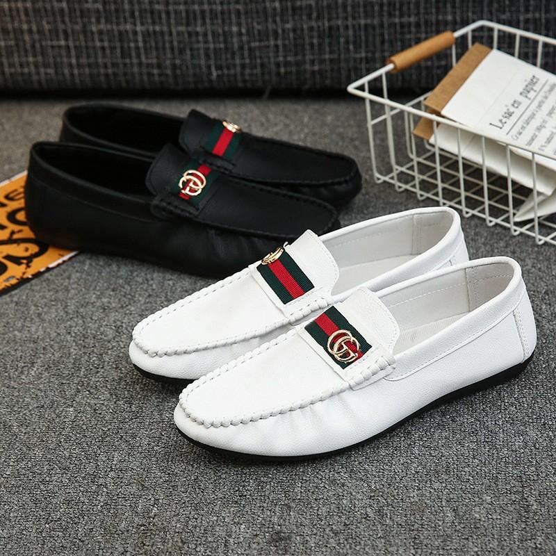 Giày lười da nam cao cấp GC G05 Sang Chảnh