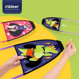 Diều bắn bằng dây thun, sáng tạo mới của Mideer (kích thích hoạt động ngoài trời của trẻ)